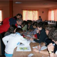 """Proiect transfrontalier """"Olimpiada Unesco—Tineret pentru cultură"""" – lucru în ateliere"""